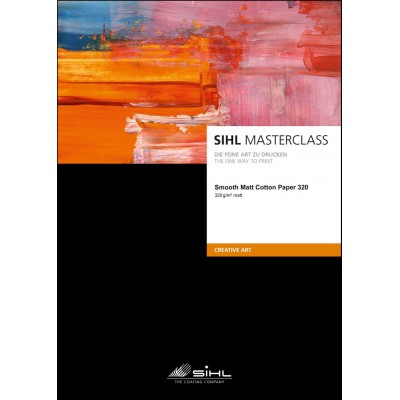 MASTERCLASS-Smooth Matte Cotton Paper 320 gr