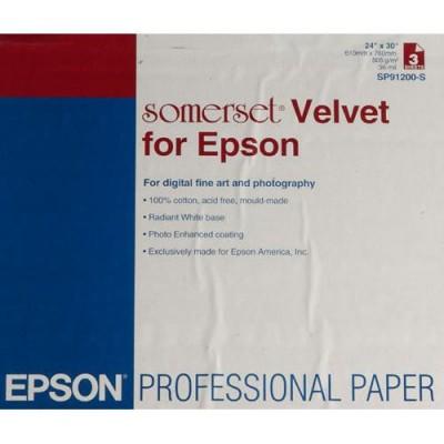 EPSON SOMERSET VELVET FINE ART PAPER 255 gr