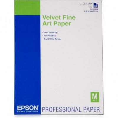 EPSON VELVET FINE ART PAPER 260 gr