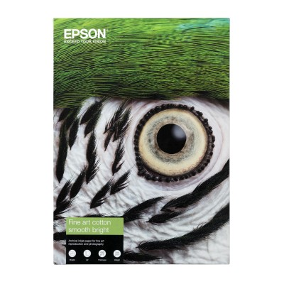 EPSON Cotton Smooth bright Paper 300 gr
