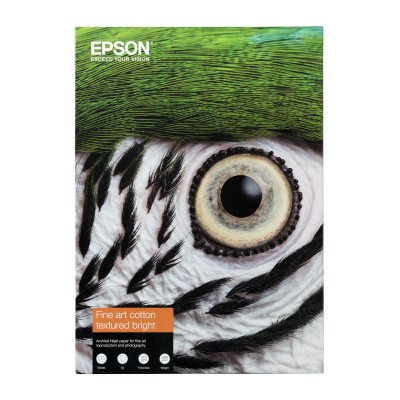 EPSON Cotton Textured bright Paper 300 gr