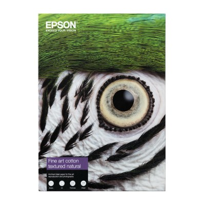 EPSON Cotton Textured natural Paper 300 gr