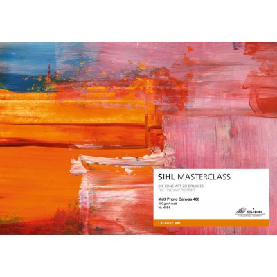 MASTERCLASS-Matte Photo Canvas 400 gr
